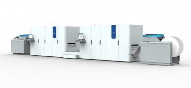 Océ Colorstream 6000 kan producera över 1600 färgsidor i minuten