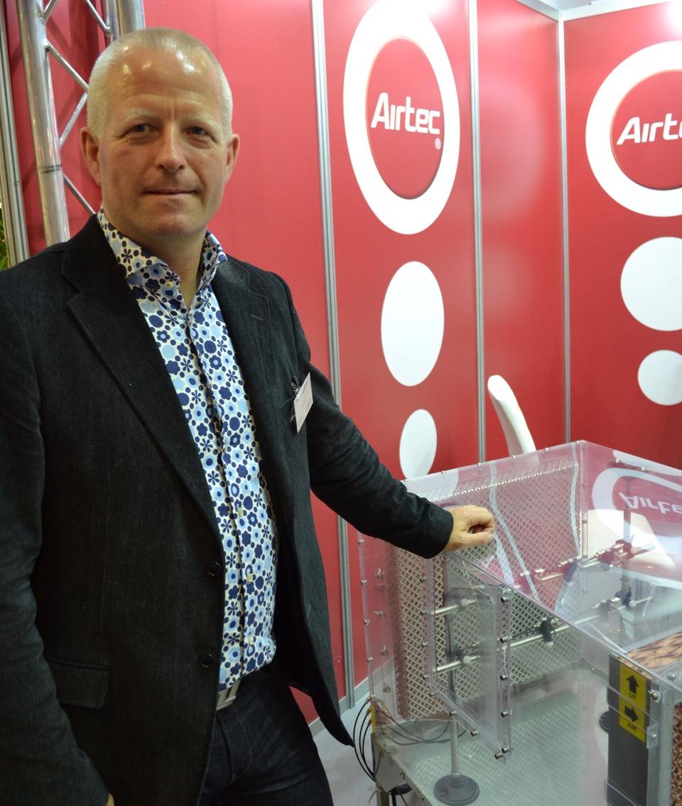 Johan Wendin, Processbefuktning, med Airtec som speciellt lämpar sig för digitaltryck och mindre lokaler.