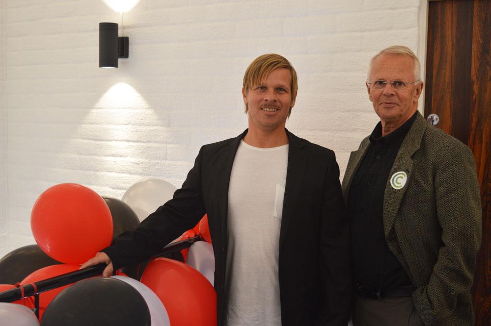 Marcus Cedervi och Torsten Cedervi från Cedecor AB.