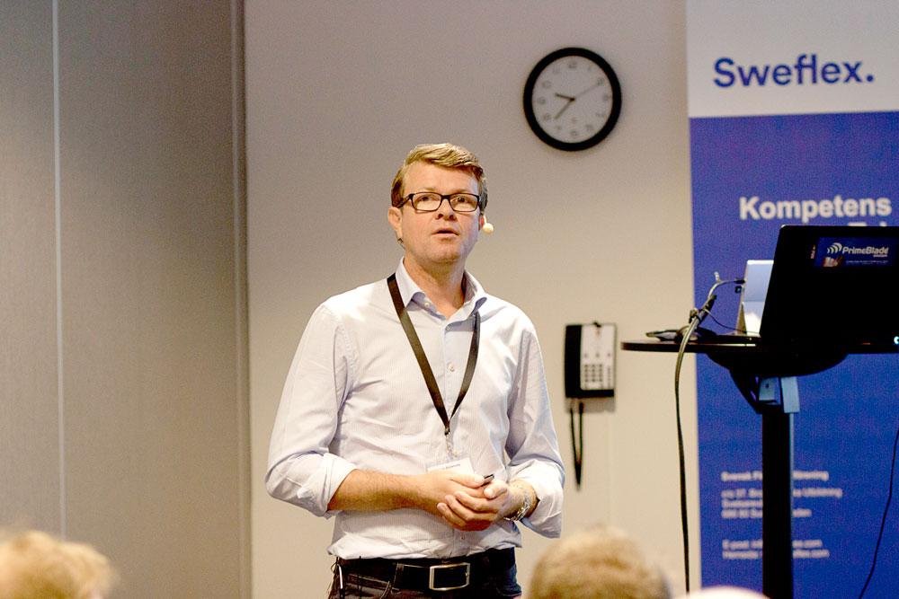 Niclas Björkholz på ÅF Industry gav sin syn på dagens förpackningstrender och hur leverantörer kan klättra längre upp i varumärkesägarnas näringskedja.
