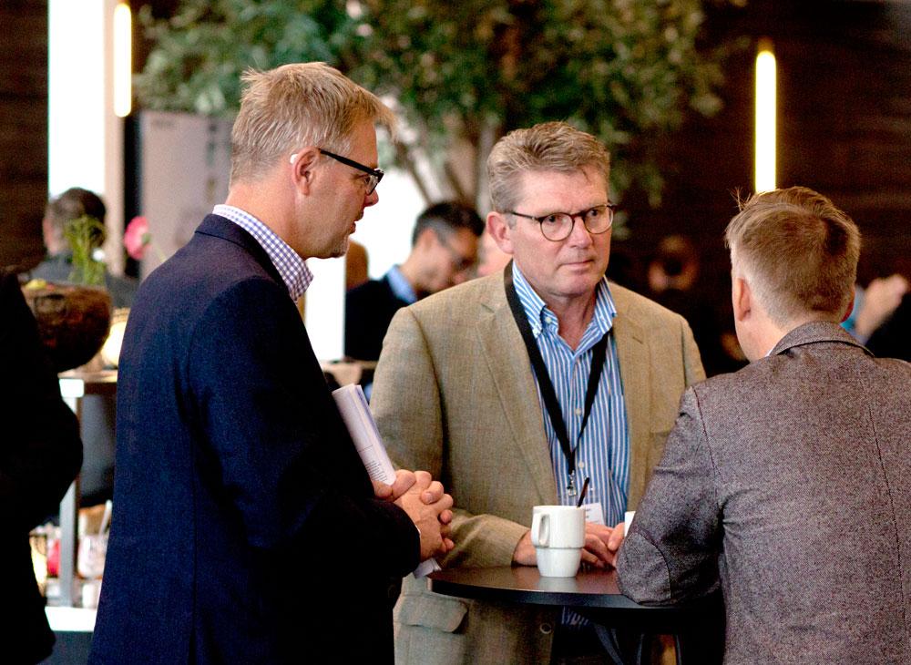 Sweflex årsmöte var också ett utmärkt tillfälle för branschens aktörer att träffas och nätverka.