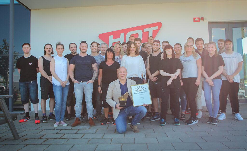Teamet bakom Hot Screen har växt markant de senaste fem åren.