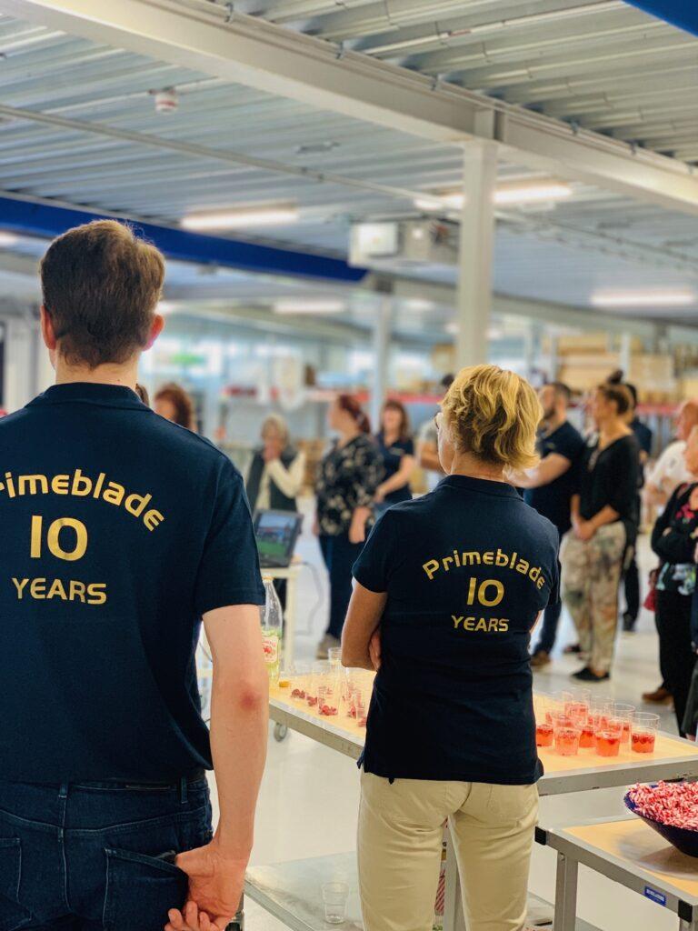 Primeblade firade tioårsdagen med att hålla öppet hus.