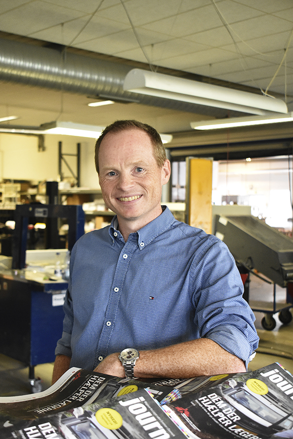 Kasper Larsen, kommersiell direktör.