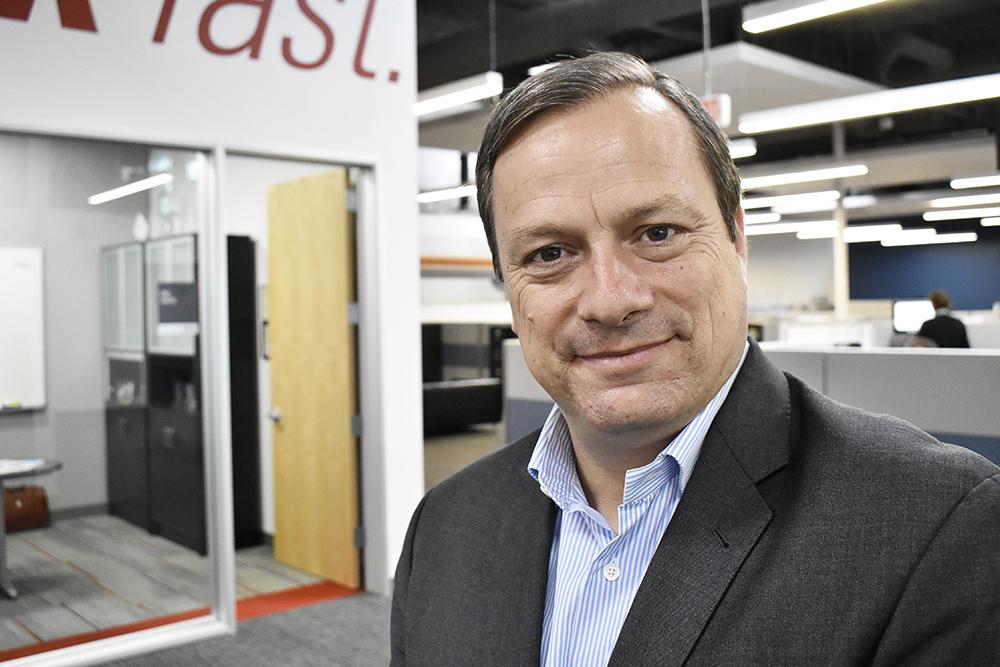 Arnaud Linquette, Senior vice president för Memjet i Europa, Mellanöstern och Afrika.