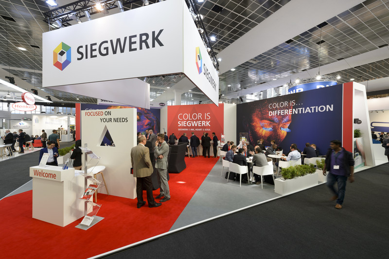 Siegwerk är på plats i Bryssel den 24-27 september på årets Labelexpo-mässa.