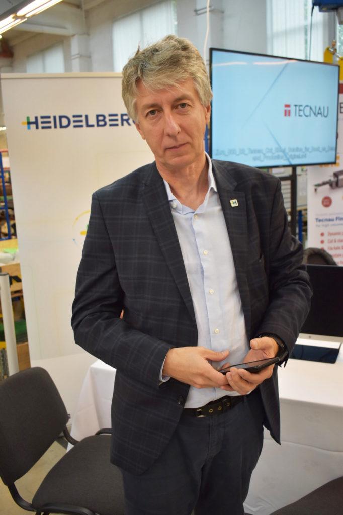 Heidelberg satsade i år på att visa möjligheterna med nätbaserade lösningar.