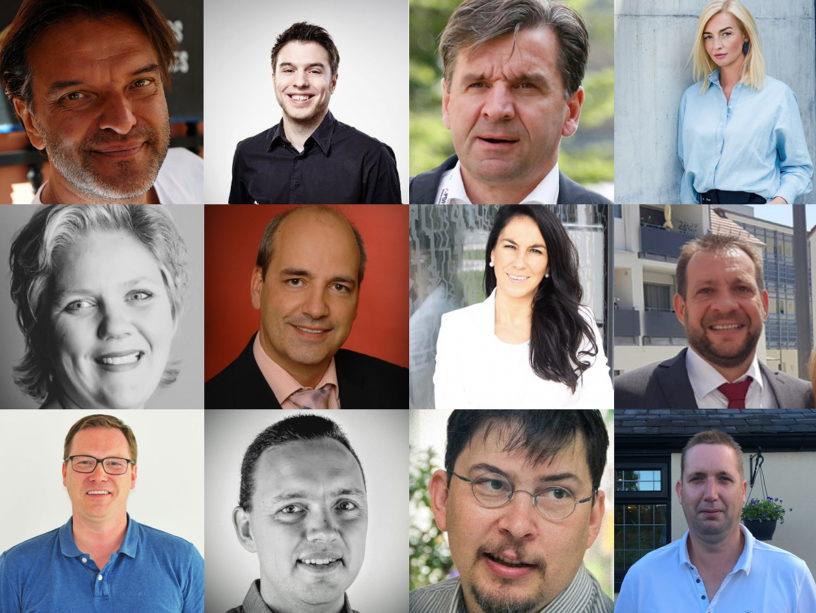 12 av de 32 talare som väntas dela med sig av sin expertkunskap inom arbetsflöden under Workflow Summit.