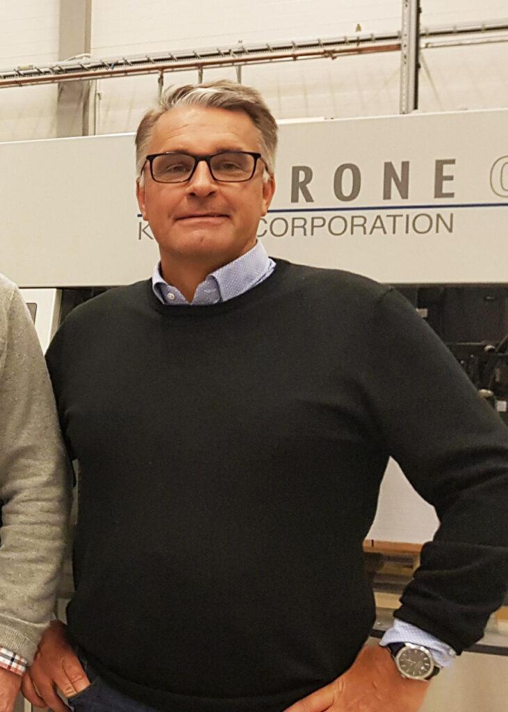 Peter Wessner, ekonomichef på Holmbergs.