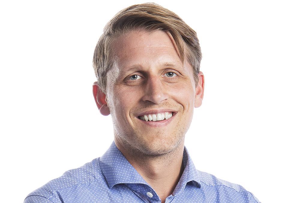 Jonas Lambaek, försäljningschef i Norden för Flyeralarm.