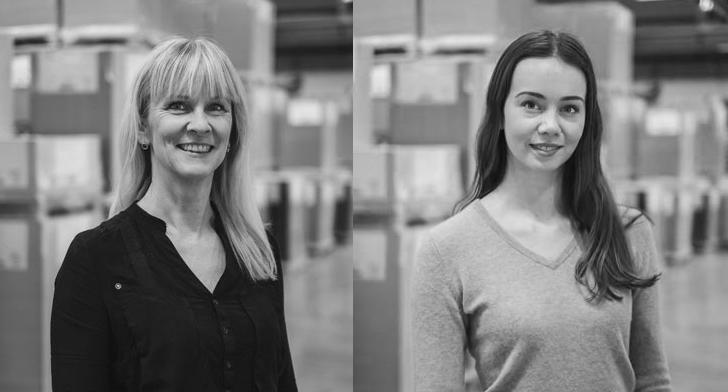Carina Jensen och Ebba Ingvarsson berättar om Lessebo Papers miljösatsning.
