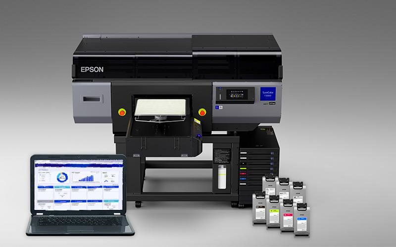 SC-F 3000 med bläck och programvara. Foto: Pressbild Epson