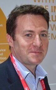 Graham Kennedy, chef för industriellt tryck på Ricoh Europa.