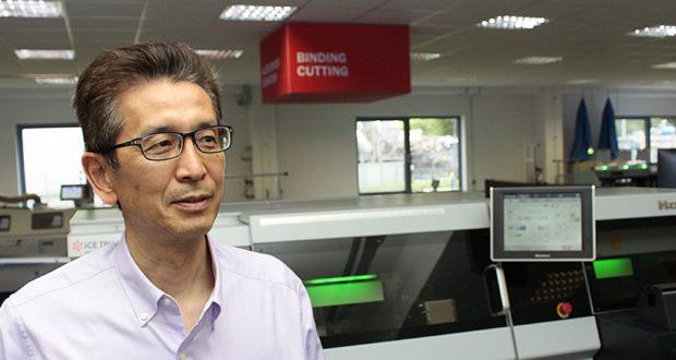 Yoshihiro Oe, vd för Horizons europeiska verksamhet, tror att processautomatisering kan vara nyckeln för framtida grafisk produktion.