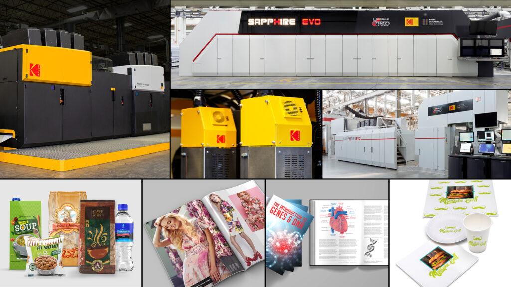 Fem produkter inom Kodaks bläckstrålesegment prisas av det oberoende forskningsinstitutet Keypoint Intelligence. Foto: Pressbild