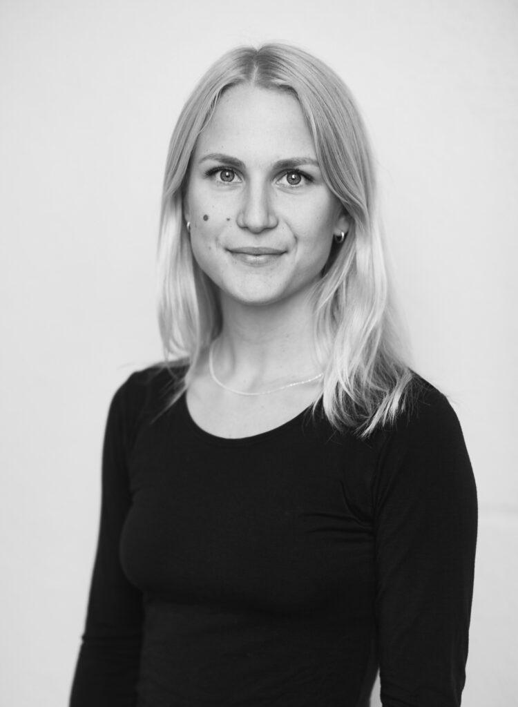 Kajsa Asp, tidigare student. Foto: Daniela Ferro